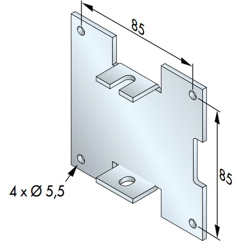 PLAQUE 100 X 100 IMBAC SUPPORT T5