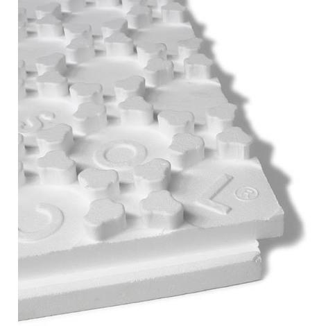 Plaque a plots pour plancher chauffant 800x1000 ep56+25