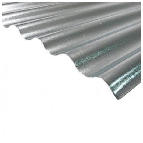 Plaque acier galvanisé petite onde