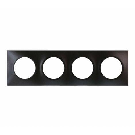 """main image of """"Plaque anthracite 4 postes Square (60399)"""""""
