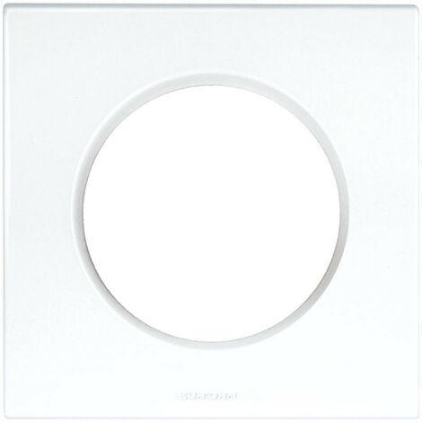 "main image of ""Plaque blanche 1 poste Square (60295)"""