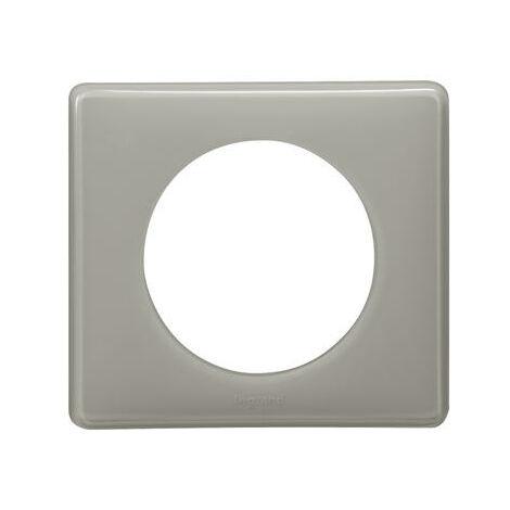 Plaque Céliane - 1 poste - Gris perlé