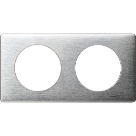 Plaque Céliane - Métal Aluminium - 2 postes