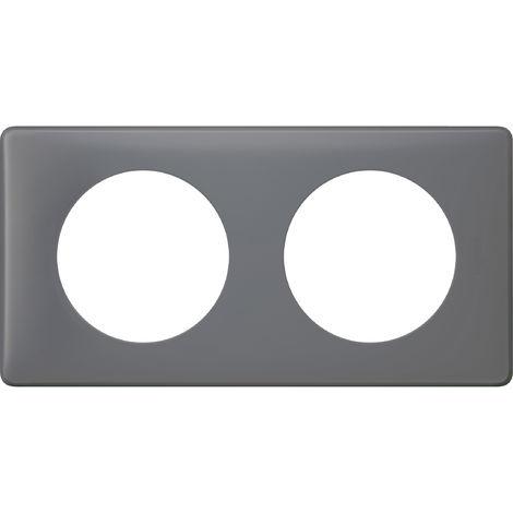 Plaque Céliane - Poudré Schiste - 2 postes