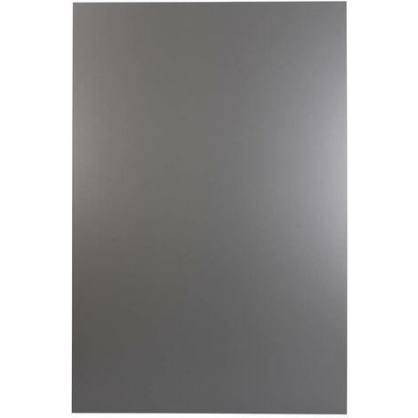 plaque composite 80*120 Black Silver
