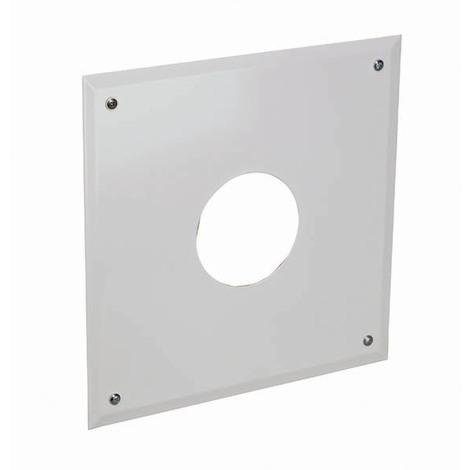 Plaque connexion cheminée/simple paroi - B23 O110mm