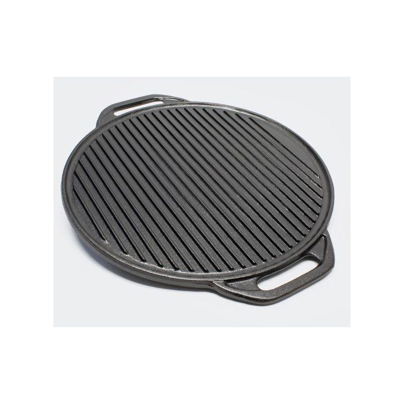 Grille de barbecue en Fonte Carrée 54x34 cm Grille Fonte