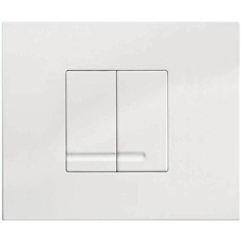 Plaque de commande 2 touches pour bati-support WISA