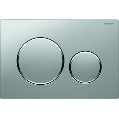 Plaque de commande - Double bouton rectangulaire - Sigma