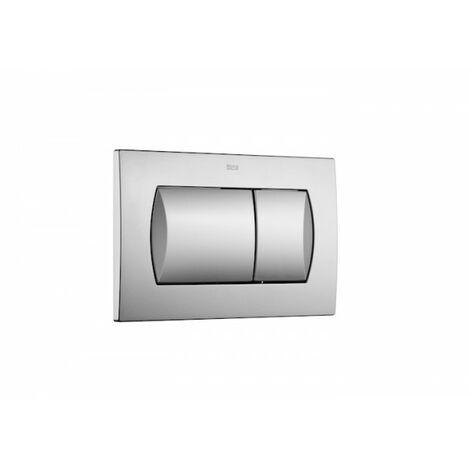 Plaque de commande double chasse pour WC suspendu IN WALL 62 Dual Mat - ROCA A8901160B2