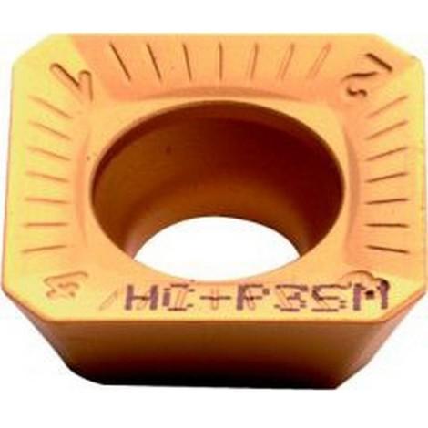 Plaque de coupe réversible ISO pour fraise à surfacer 45° à arrosage central, Désignation : SEHT 1204AF PTT35 (Par 10)