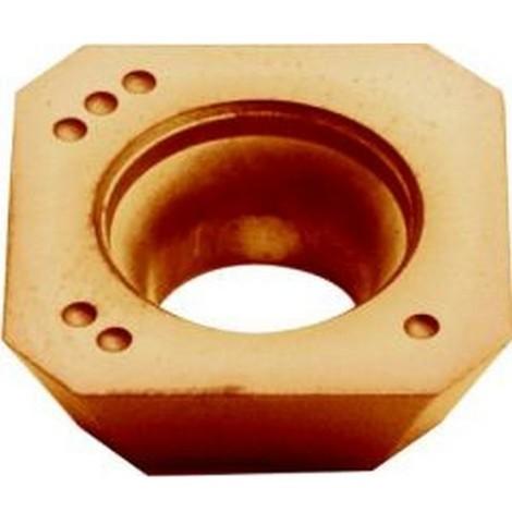 Plaque de coupe réversible ISO pour fraise à surfacer 45° à arrosage central, Désignation : SEHW 1204AF PTT35 (Par 10)