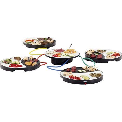 Plaque de cuisson Princess Dinner 4 All 01.103080.01.001 avec réglage manuel de la température 1 pc(s)