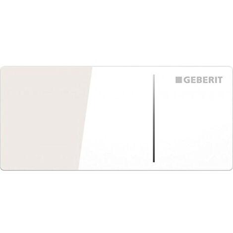 Plaque de déclenchement OMEGA70 GEBERIT, acier inoxydable brossé (115.084.FW.1)