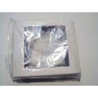 Plaque de finition blanche AQUADESIGN SCHNEIDER MTN400119