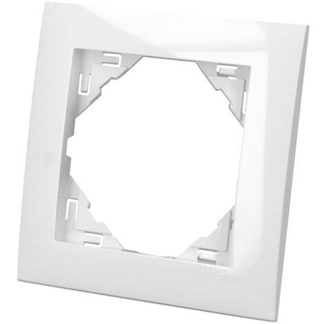 """main image of """"Plaque de finition blanche simple Efapel Logus 90"""""""