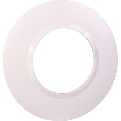 Plaque de finition Dooxie Blanc - 1, 2, 3 ou 4 postes / Legrand