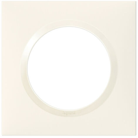 Plaque de finition Dooxie Blanc - 1, 2, 3 ou 4 postes / Legrand