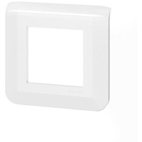"""main image of """"Plaque de finition Mosaic pour 2 modules blanc (078802L)"""""""