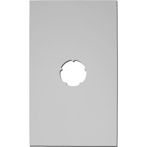 Plaque de finition plafond blanche 500x300mm Ø 80