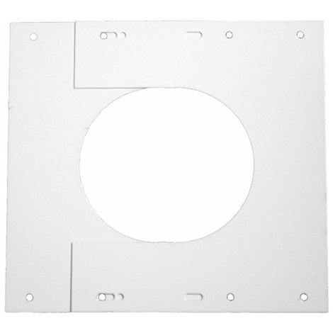 Plaque de finition (set) blanc O100/150