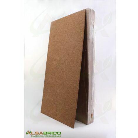 Plaque de liège naturel brut - Isolant thermique et phonique - 10mm - 10mm | panneau(x) de 0.5 m² - 0