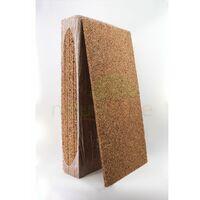 Plaque de liège naturel brut - Isolant thermique et phonique - 20mm - 20mm | panneau(x) de 0.5 m² - 0
