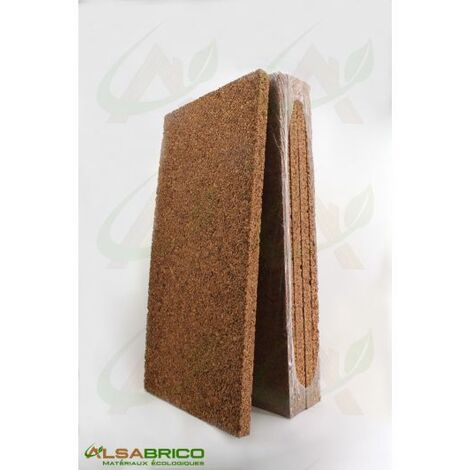 Plaque de liège naturel brut - Isolant thermique et phonique - 40mm - 40mm | panneau(x) de 0.5 m² - 0
