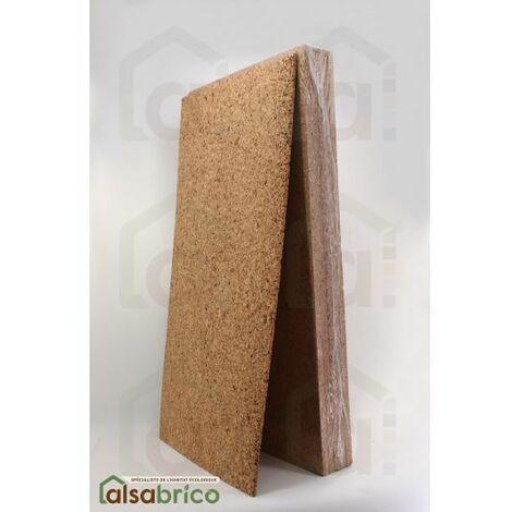 Plaque de liège naturel poncée dense isolante - 60mm - 60mm | panneau(x) de 0.5 m² - 0