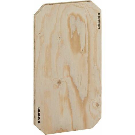 plaque de montage Gis Geberit en bois, universel, 310 x 580 x 30mm