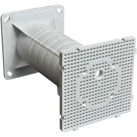 Plaque de montage isolante KOPOS MDZ KB (l x h x p) 119 x 119 x 204 mm