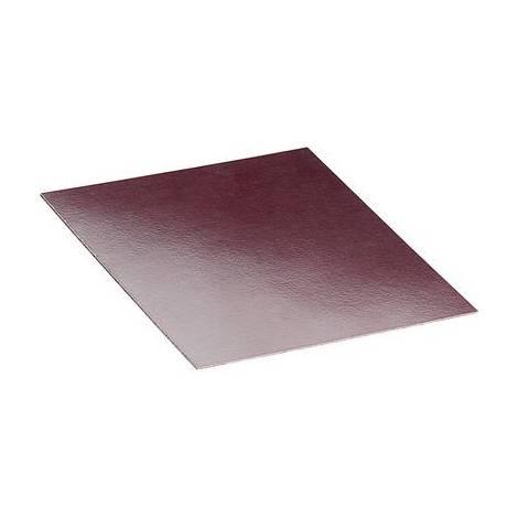 Plaque de montage Proma 528137 (L x l x h) 200 x 200 x 2 mm Bakélite marron 1 pc(s)