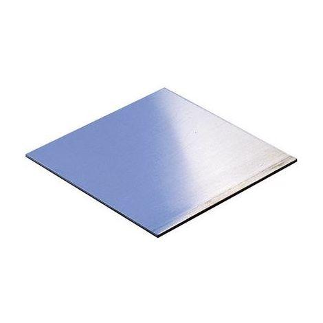 Plaque de montage Rademacher 2015-1 (L x l x h) 100 x 100 x 1.5 mm aluminium aluminium 1 pc(s)