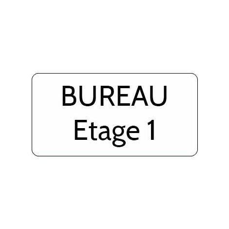 Plaque de porte en laiton grav/ée sur 1 ou 2 lignes 97 mm x 33 mm Plaque de porte grav/ée en laiton Fantaisie petit mod/èle
