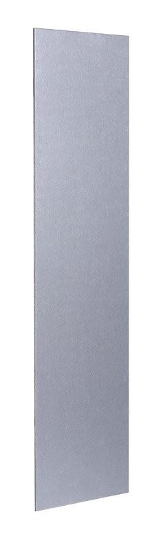 Plaque de propret/é aluminium argent