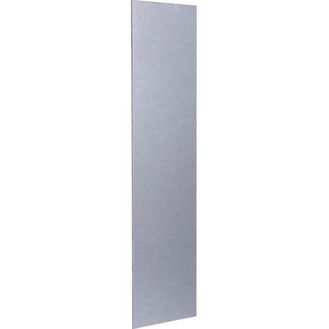 Plaque de propreté aluminium argent Duval