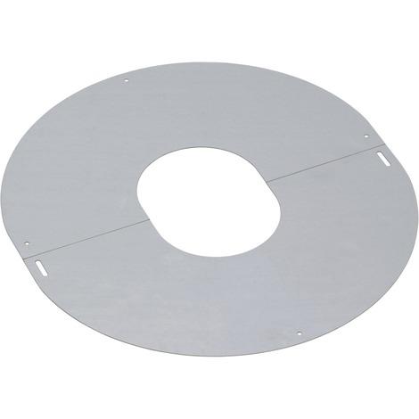 Plaque de proprete inox pgi 80 pente de toit 30/40°