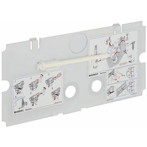 Plaque de protection - GEBERIT : 240.512.00.1