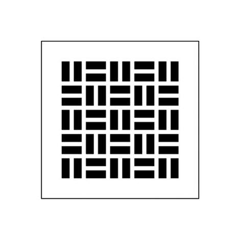 Plaque de recouvrement grille - XD25-50 DECO RENSON - 66031642