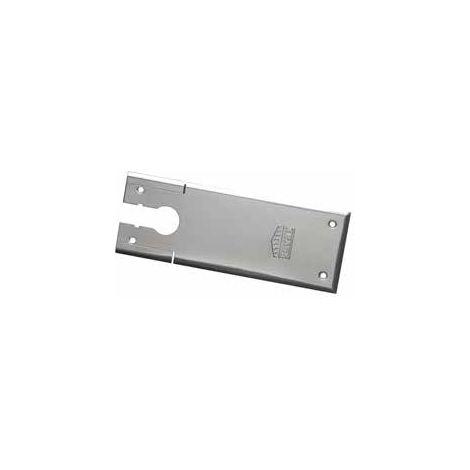 Plaque de recouvrement standard 285x105 mm SEVAX acier inox brossé - SN313925