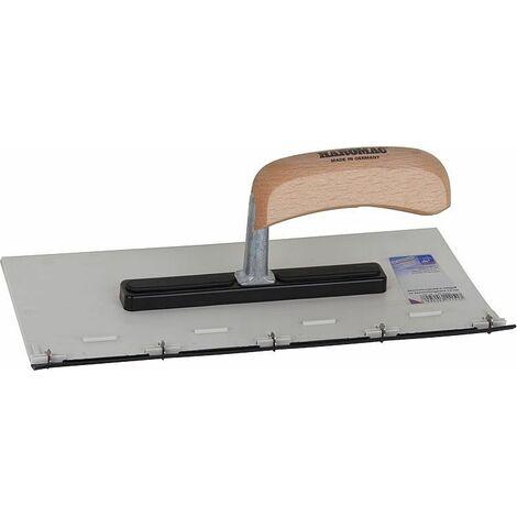 plaque de revetement 280 x130mm avec poignee bois pour hauteur de revetement 3mm