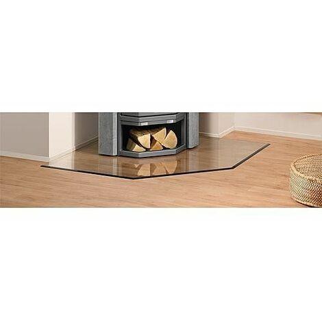 plaque de sol acier 2 mm pour poele triangulaire b5. Black Bedroom Furniture Sets. Home Design Ideas