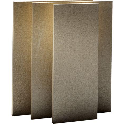Plaque de vermiculite 1100° 610 x 305 x 30 mm