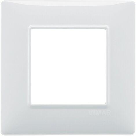 "main image of ""Plaque De Vimar Plana 2-Module Blanc 14642.01"""