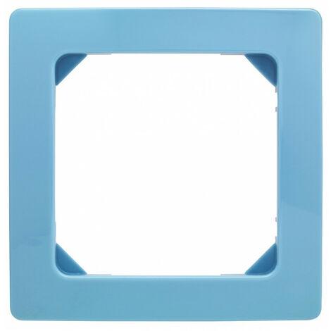 """main image of """"Plaque décorative 1 poste bali (bleu lagon)"""""""