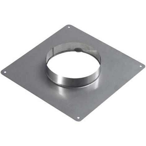 Plaque d'étanchéité inox 350x350 O125