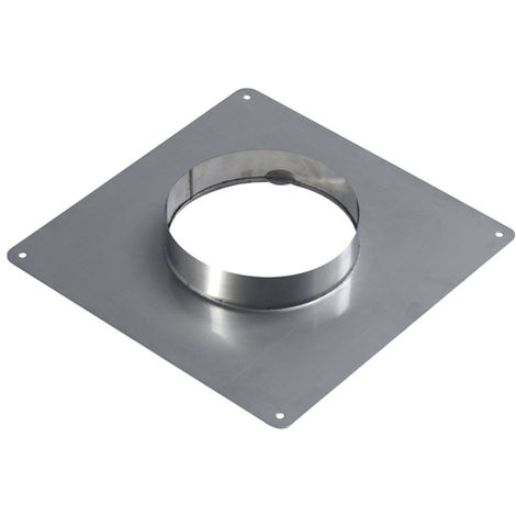 Plaque d'étanchéité inox 350x350 O80