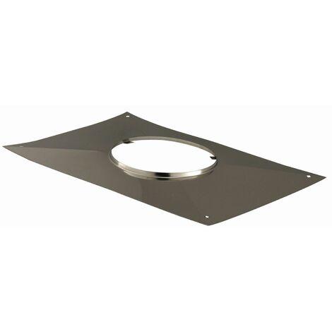Plaque d'étanchéité rectangulaire - Diamètre : 180