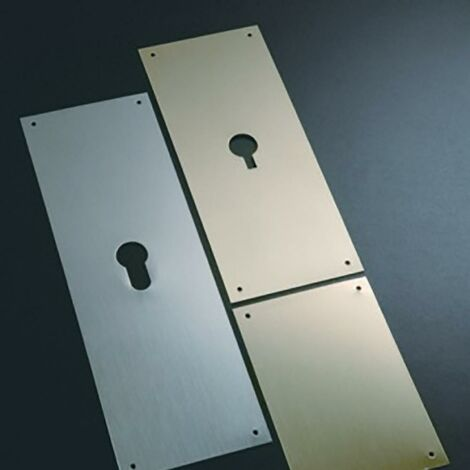 Plaque d'obturation 60X80Mm laiton mat 300/03 Bernial