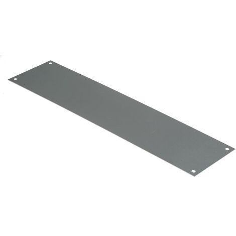 Plaque d'obturation en Acier inoxydable, fixation Vis, Dimensions 300 x 75mm